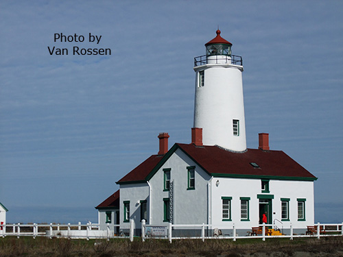 Dungeness Spit Light House